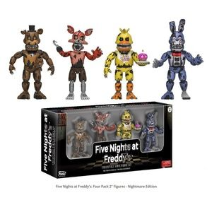 """Five Nights At Freddy'S 2"""" Inch Figure 4Pk"""